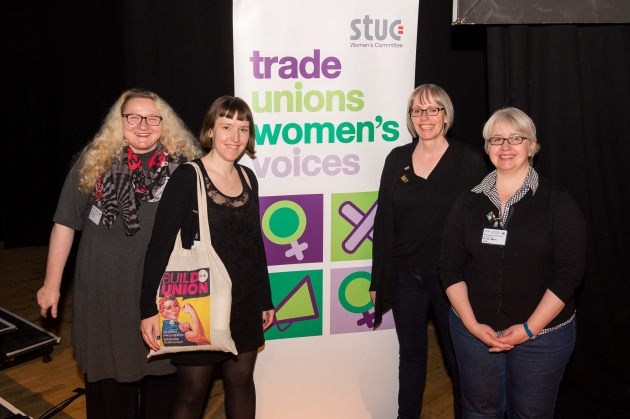 STUC Women's Conference 2017 held at Rothes Halls, Glenrothes.